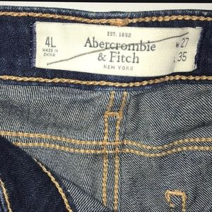 Abercrombie & Fitch Jeans - A&F 4L skinny jeans